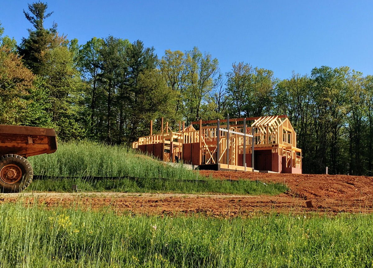 Building a house on a farm – MCF
